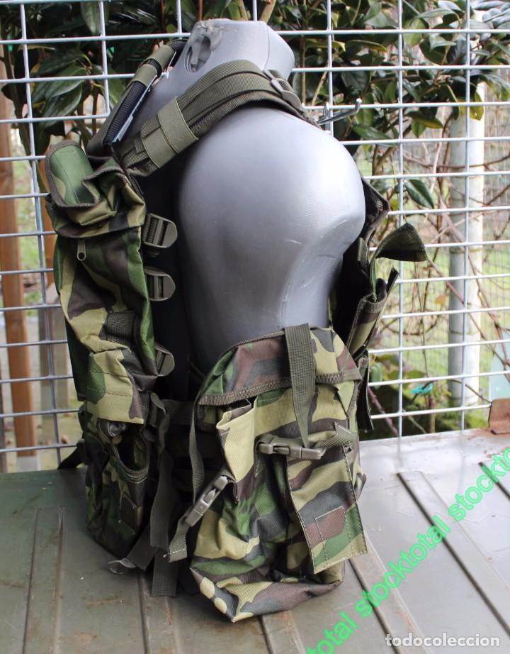 Militaria: Chaleco BARBARIC Tactico.Ajustable.CAMO Tipo: Chaleco ligero modular Mate 34230 - Foto 3 - 71535863