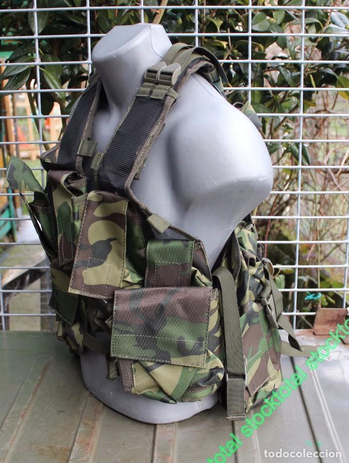 Militaria: Chaleco BARBARIC Tactico.Ajustable.CAMO Tipo: Chaleco ligero modular Mate 34230 - Foto 5 - 71535863