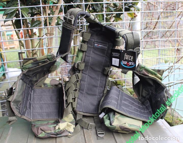 Militaria: Chaleco BARBARIC Tactico.Ajustable.CAMO Tipo: Chaleco ligero modular Mate 34230 - Foto 6 - 71535863