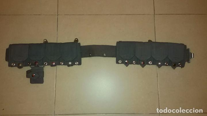 Militaria: ceñidor con cartucheras Armada - Foto 2 - 75436391