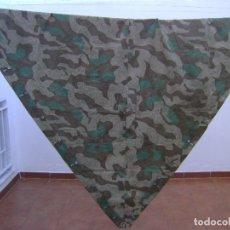Militaria: PONCHO ALEMAN ZELBANT ORIGINAL DE CAMUFLAJE .. Lote 80322069