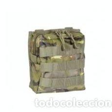 Militaria: ESTUPENDO BOLSILLO VERDE BOSCOSO PIXELADO DE 18 X 14 CMTS . Lote 83165044