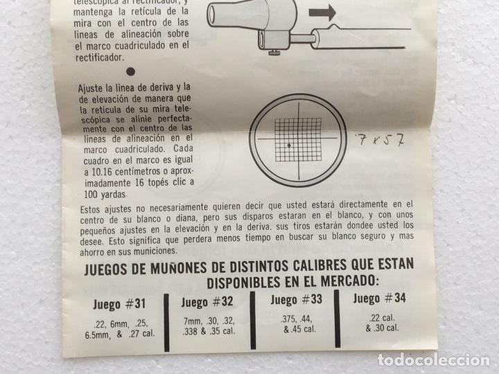Militaria: RECTIFICADOR DE TIRO - Foto 14 - 84245319