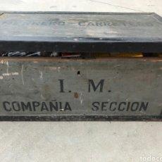 Militaria: ANTIGUO BAÚL/ARCON DE INFANTERÍA MARINA. Lote 87902930