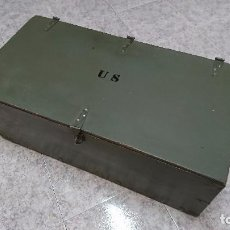 Militaria: BAÚL MILITAR US ARMY. Lote 89653784