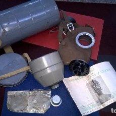 Militaria: MASCARA GAS TYPE L 702-BELGICA 1939. Lote 90140200