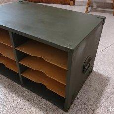 Militaria: ARCHIVADOR MILITAR DE CAMPAÑA. Lote 87185320
