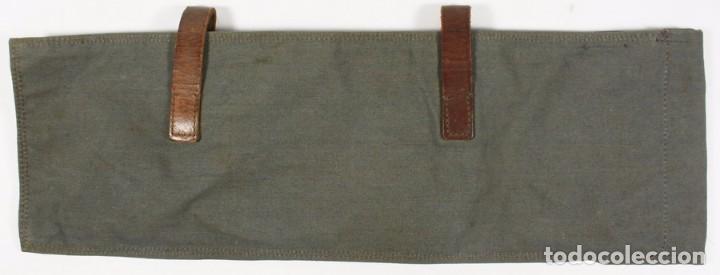 Militaria: Bolsa para palos y piquetas para poncho (Zeltbhan), original alemán 2 GM - Foto 2 - 99868843