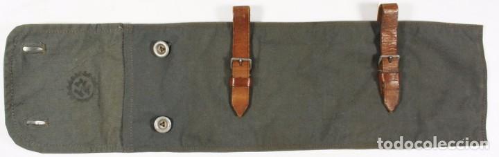 Militaria: Bolsa para palos y piquetas para poncho (Zeltbhan), original alemán 2 GM - Foto 3 - 99868843