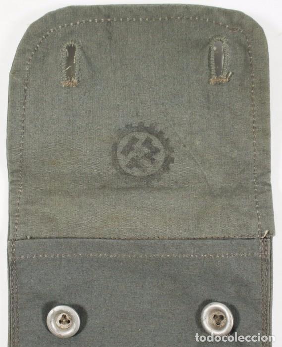 Militaria: Bolsa para palos y piquetas para poncho (Zeltbhan), original alemán 2 GM - Foto 4 - 99868843