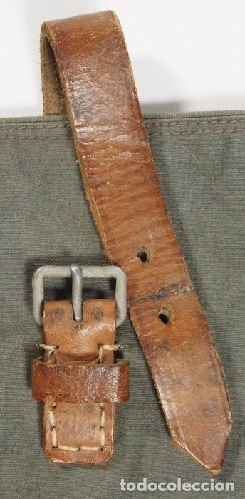 Militaria: Bolsa para palos y piquetas para poncho (Zeltbhan), original alemán 2 GM - Foto 6 - 99868843