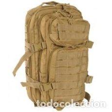 Militaria: GENIAL MOCHILA DE 20 LITROS DE ASALTO EN COLOR COYOTE 42 X 20 X 25 CMTS. Lote 101766443