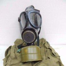 Militaria: ANTIGUA MASCARA DE GAS BOLSO DE LIENZO SIN USAR UNIÓN SOVIÉTICA. Lote 106597356
