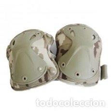 Militaria: RODILLERAS TÁCTICAS COLOR ÁRIDO PIXELADO. Lote 105025107