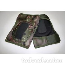 Militaria: RODILLERAS TÁCTICAS EJÉRCITO ESPAÑOL PIXELADO BOSCOSO . Lote 105025375