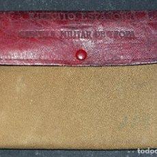 Militaria: CARTILLA MILITAR DEL AÑO 1918 , PORTA DOCUMENTOS DE TELA Y CUERO Y DOCUMENTACIÓN (VER COMENTARIOS). Lote 105730319