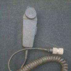 Militaria: MICROFONO RADIO EMISORA EJERCITO. Lote 108026939