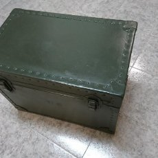Militaria: BAUL DE TRANSPORTE DEL US ARMY PARA MAQUINA DE ESCRIBIR. Lote 110014051