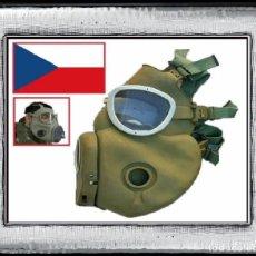 Militaria: MÁSCARA ANTIGÁS EJÉRCITO CHECO RESPIRADOR PROTECCIÓN CZ M10 ABC MÁSCARA BW (R-004Ñ). Lote 115947322