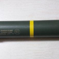 Militaria: TUBO PARA GRANADAS ALHAMBRA INSTALAZA. Lote 114324582