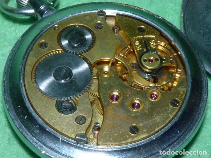Militaria: Bello reloj LEONIDAS pre HEUER militar CALIBRE UNITAS 233 swiss made 2ª guerra mundial marcaje GSTP - Foto 5 - 114202987
