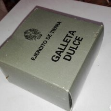 Militaria: GALLETA DULCE SIN ABRIR EJERCITO DE TIERRA ESPAÑA. Lote 116098302