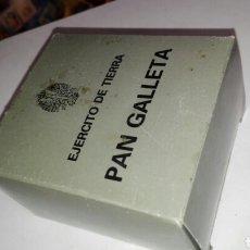 Militaria: PAN GALLETA EJÉRCITO ESPAÑOL DE TIERRA SIN ABRIR. Lote 116098576