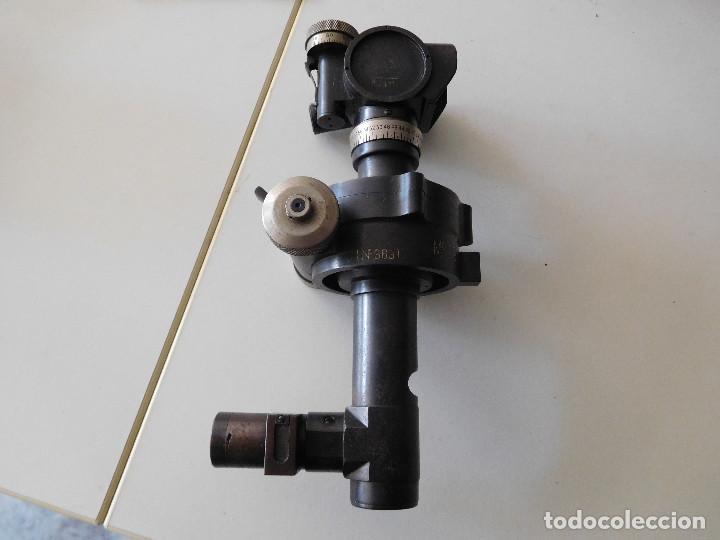 Militaria: Antiguo goniometro militar de artillería - Foto 3 - 116279379