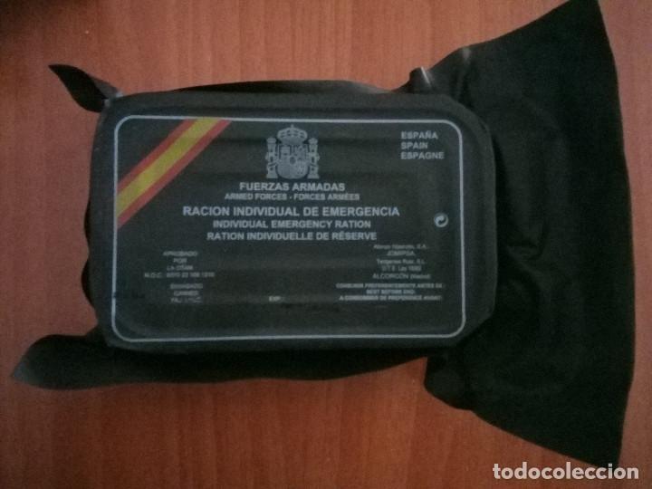 RACION INDIVIDUAL DE EMERGENCIA (Militar - Equipamiento de Campaña)