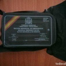 Militaria: RACION INDIVIDUAL DE EMERGENCIA. Lote 139293086