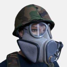 Militaria: MASCARA-ANTI-GAS-M10M. Lote 117301623