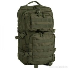 Militaria: GENIAL MOCHILA DE 36 LITROS EN COLOR VERDE, CON MULTICOMPARTIMENTOS 51 X 29 X 28 CMTS. Lote 150806942