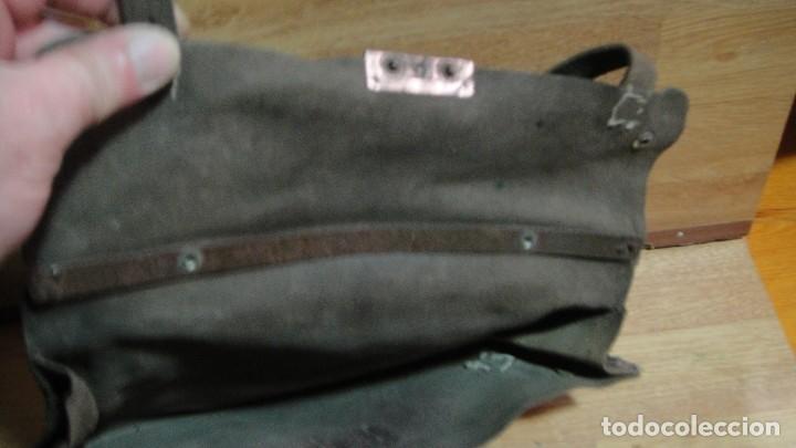 Militaria: cartera de cuero porta documentos , guerra civil - Foto 3 - 118835783