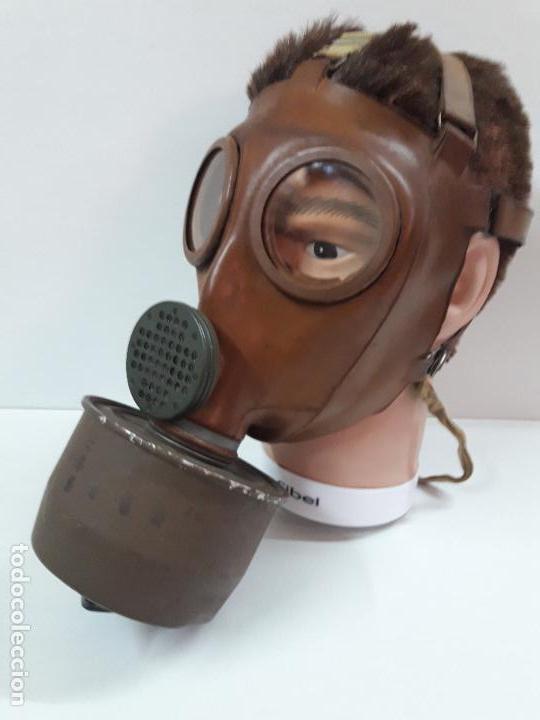 Militaria: MASCARA DE GAS CON SU BOTE - Foto 8 - 121032011