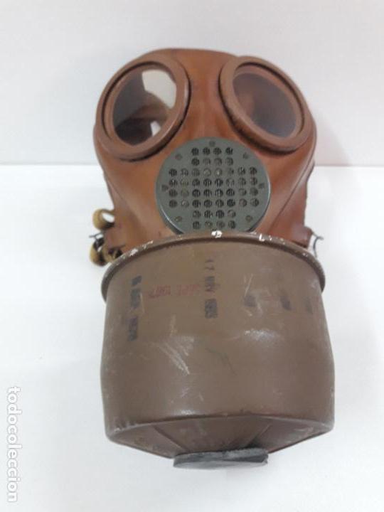 Militaria: MASCARA DE GAS CON SU BOTE - Foto 13 - 121032011