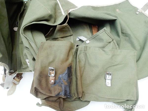 Militaria: MOCHILA TROPAS DE MONTAÑA AÑOS 50 - Foto 5 - 124437311