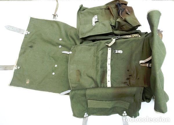 Militaria: MOCHILA TROPAS DE MONTAÑA AÑOS 50 - Foto 6 - 124437311