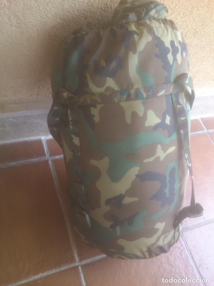 Militaria: SACO DE DORMIR PARA MONTAÑA MIMETIZADO BOSCOSO MILITAR - Foto 4 - 129380495