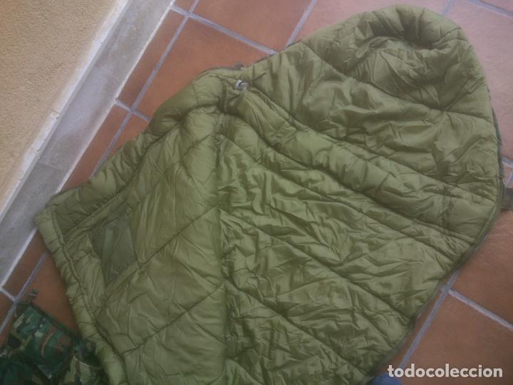 Militaria: SACO DE DORMIR PARA MONTAÑA MIMETIZADO BOSCOSO MILITAR - Foto 5 - 129380495