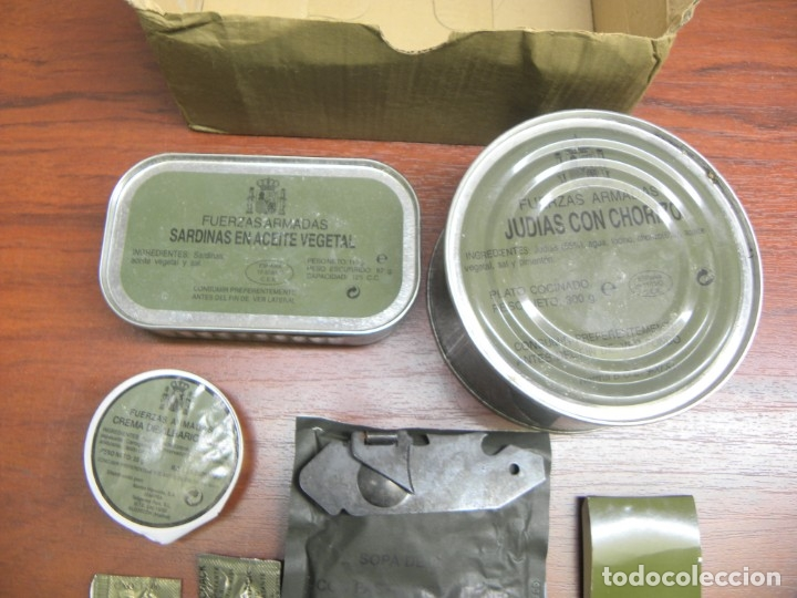 Militaria: RACION DE COMIDA MILITAR - Foto 2 - 74244539