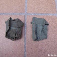Militaria: CARTUCHERAS LONA EJÉRCITO ESPAÑOL. M-67. Lote 134046114