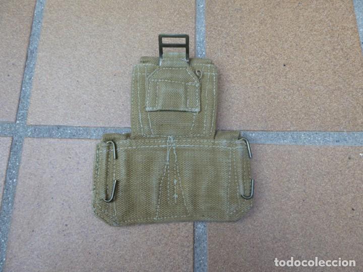 Militaria: Triple cartuchera Mills del ejército británico. M-37 COMMONWEALTH Ammunition Pouches - Foto 2 - 135530642