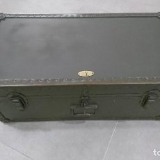 Militaria: BAUL MILITAR DE EQUIPAJE MODELO 1948, US ARMY. Lote 139280266