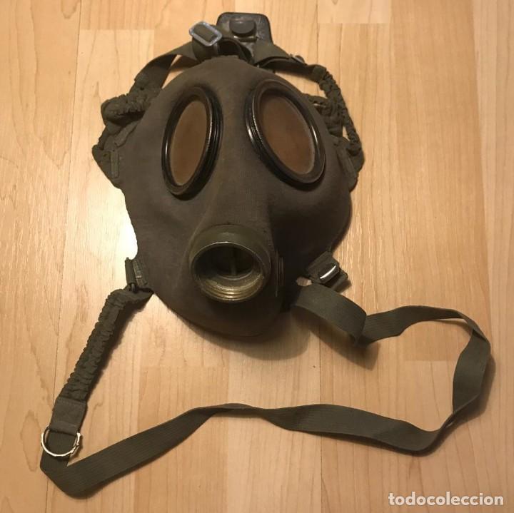Máscara de gas con bolsa combate URSS Ejercito ruso época comunista - 140113530