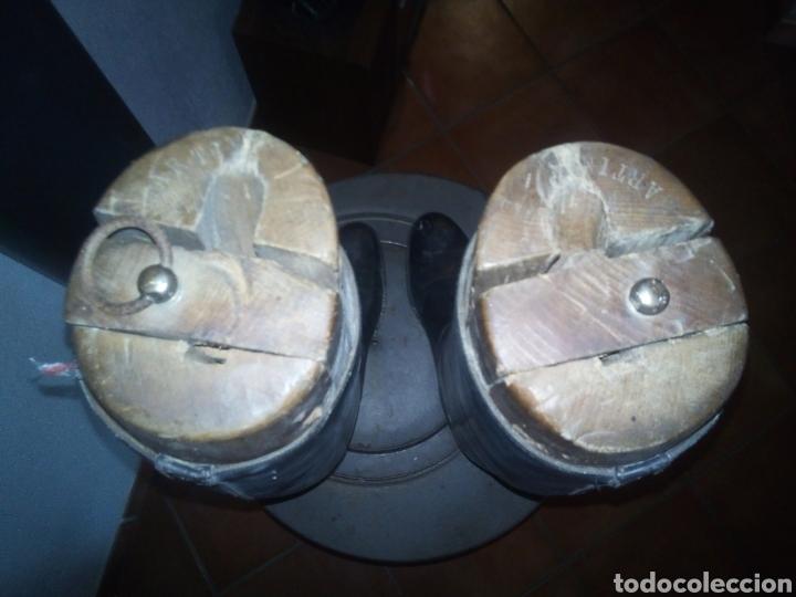 Militaria: Botas Guardia trafico años 40/50 con hormas muy raras - Foto 4 - 140118909