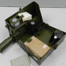 Militaria: ANTIGUO KIT COMPLETO MILITAR PARA EL ANÁLISIS DE LAS ARMAS QUÍMICAS USSR RARO. Lote 140479334