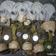 Militaria: LOTE 5 MASCARAS ANTIGAS RUSAS. Lote 141607510
