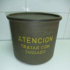 Militaria: CAJA METALICA. Lote 142303362