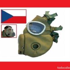 Militaria: MÁSCARA ANTIGÁS EJÉRCITO CHECO RESPIRADOR PROTECCIÓN CZ M10 ABC MÁSCARA BW (R-004Ñ). Lote 145028752