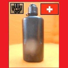 Militaria: EJÉRCITO SUIZO BOTELLA M84 BOTELLA CANTIMPLORA 0,8L. ORIGINAL 100% ALMACÉN NUEVO, SIN USAR,. Lote 173876559